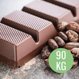 barrette di cioccolato al cbd